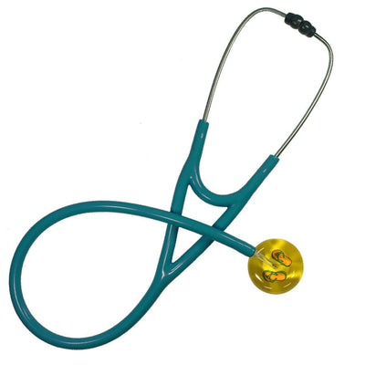 UltraScope Cardiology Stethoscope Flip Flops Yellow