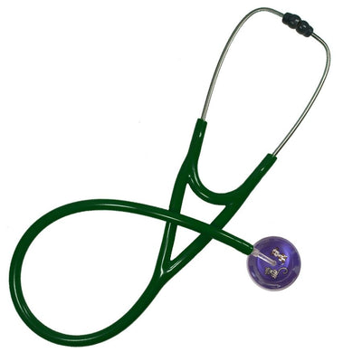UltraScope Cardiology Stethoscope Kitty and Doggie Purple