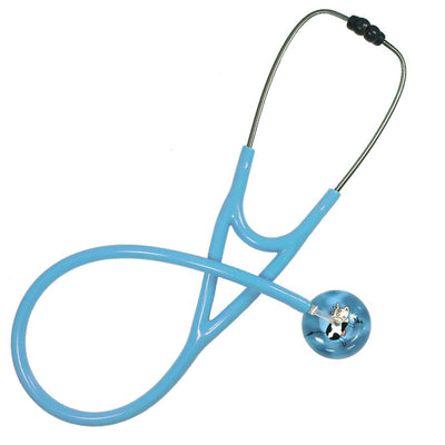 UltraScope Cardiology Stethoscope Cartoon Cow Light Blue
