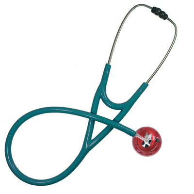 UltraScope Cardiology Stethoscope Cartoon Cow Red
