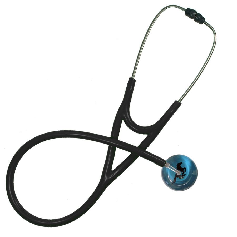 UltraScope Cardiology Stethoscope Galloping Horse Teal
