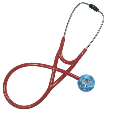 UltraScope Cardiology Stethoscope Stick Girl and Boy Light Blue