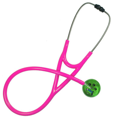 UltraScope Cardiology Stethoscope Stick Surgeon Light Green with Paws