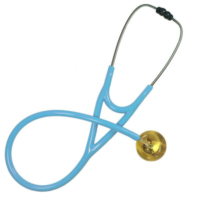 UltraScope Cardiology Stethoscope Tiger Outline Gold