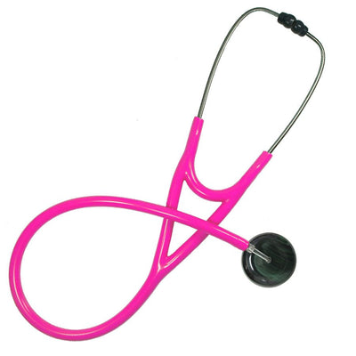 UltraScope Cardiology Stethoscope Black Pinstripe Green