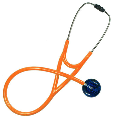 UltraScope Cardiology Stethoscope Black Pinstripe Royal Blue