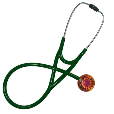 UltraScope Cardiology Stethoscope Sunny Side Up Orange