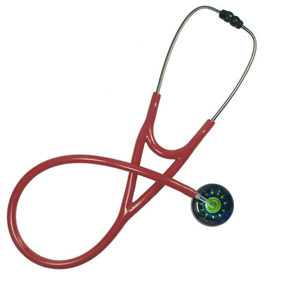UltraScope Cardiology Stethoscope Sunny Side Up Light Green