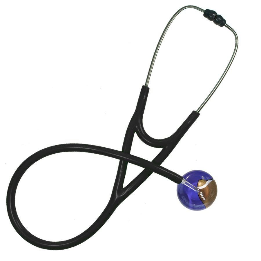 UltraScope Cardiology Stethoscope Football Purple