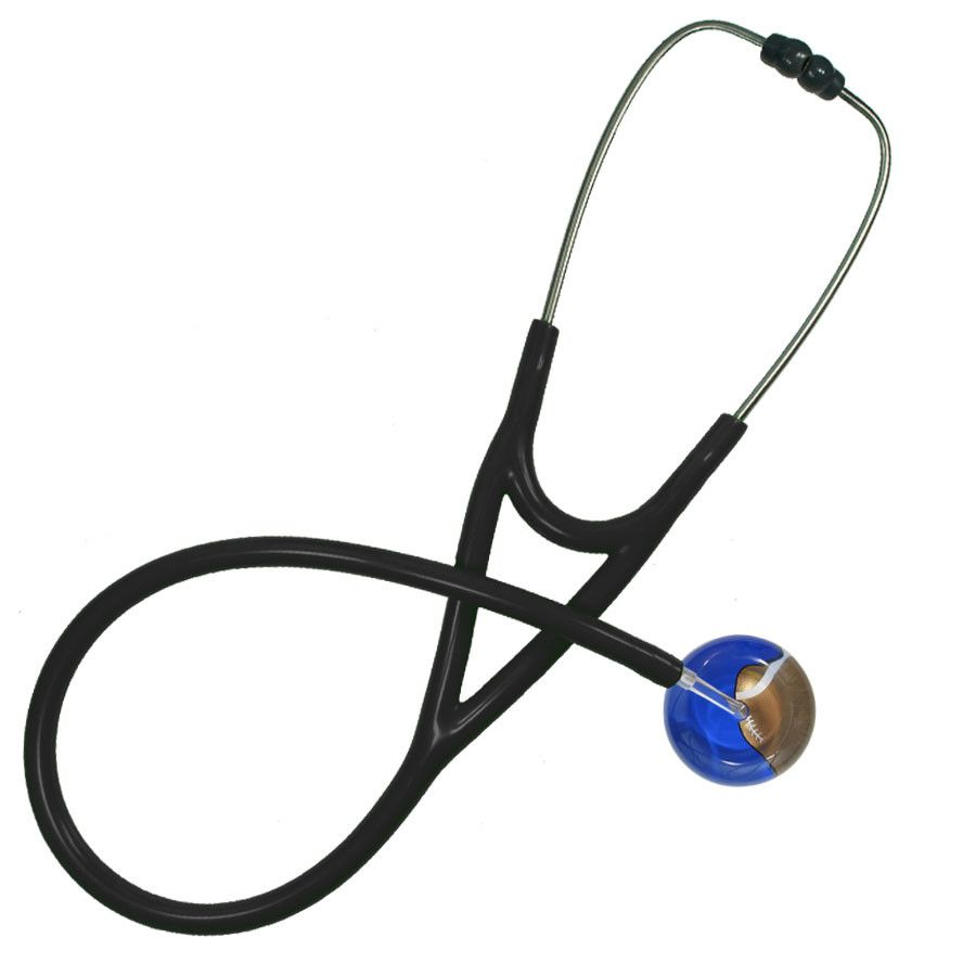UltraScope Cardiology Stethoscope Football Royal Blue