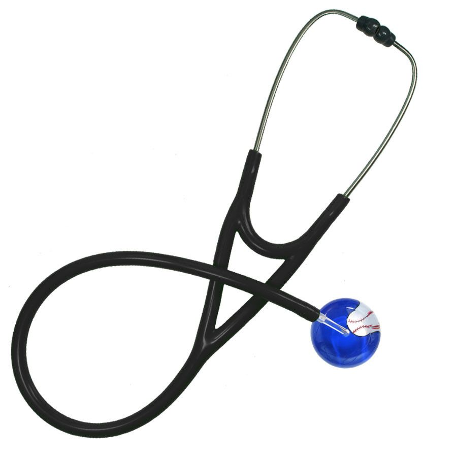 UltraScope Cardiology Stethoscope Baseball Royal Blue