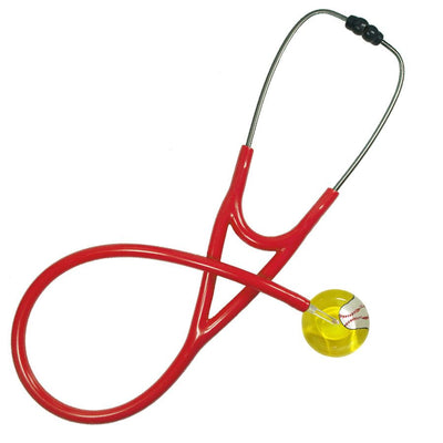 UltraScope Cardiology Stethoscope Baseball Yellow