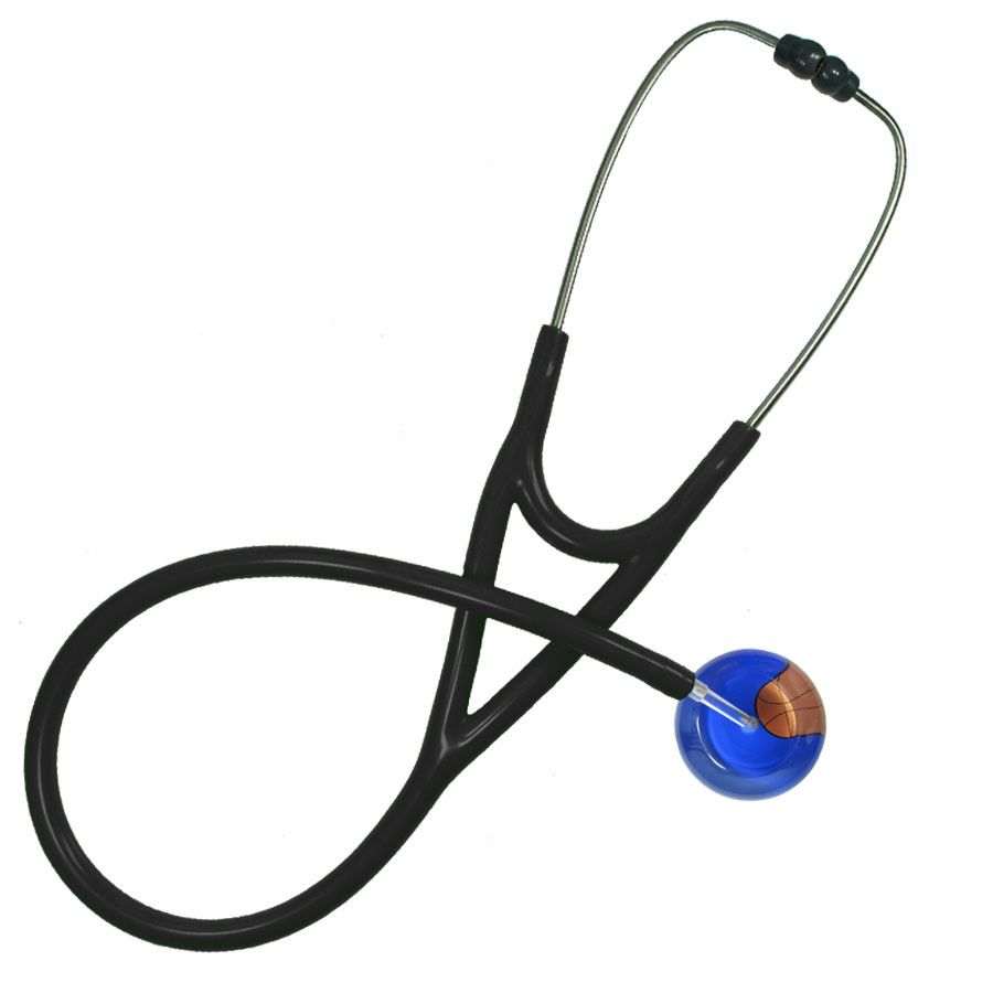 UltraScope Cardiology Stethoscope Basketball Royal Blue