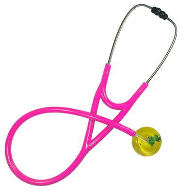 UltraScope Cardiology Stethoscope Cartoon Frog Yellow