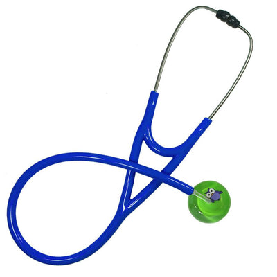UltraScope Cardiology Stethoscope Cartoon Owl Light Green