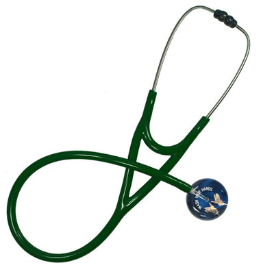UltraScope Cardiology Stethoscope Wash Your Hands (Pre- Engraved) Navy Blue