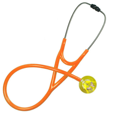 UltraScope Cardiology Stethoscope Wash Your Hands (Pre- Engraved) Yellow