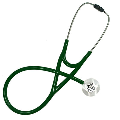 UltraScope Cardiology Stethoscope I mustache you (Pre- Engraved) White