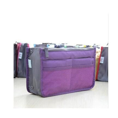 Purple Ganador Nurse Handbag & Desktop Organizer
