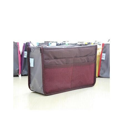 Wine Red Ganador Nurse Handbag & Desktop Organizer