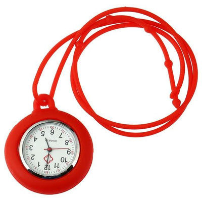 Gnova Platinum Necklace Nurse FOB Watch (9 Colors)