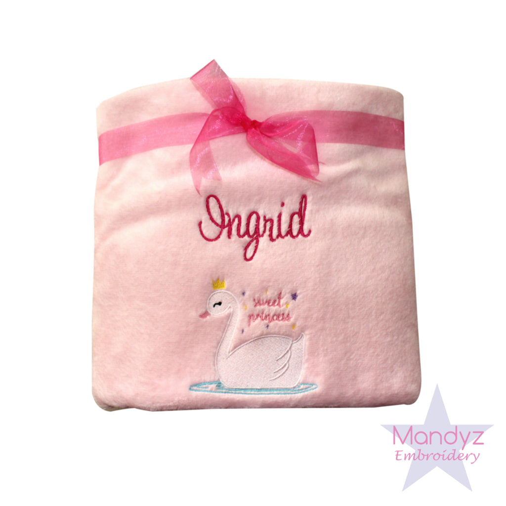 Personalised Embroidered Baby Blankets and Towel Sets now available!