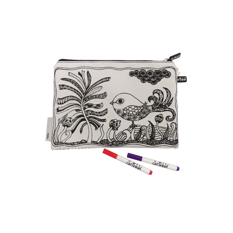 Scribbla Pencil Case - Bird