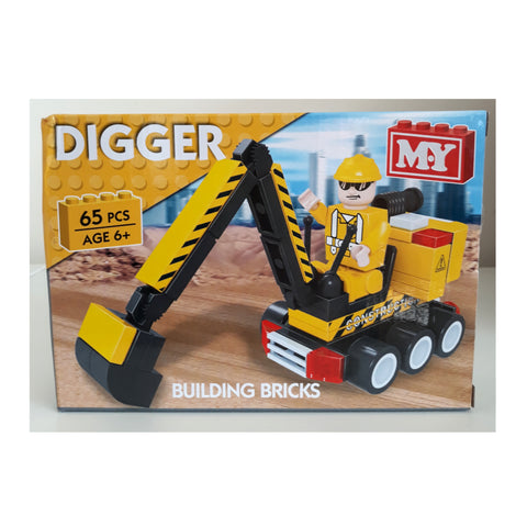 Construction Blocks - Digger