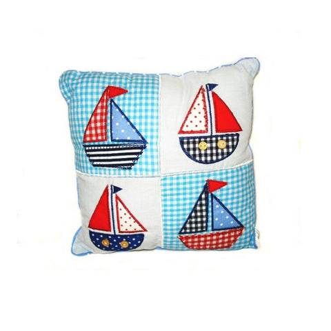 Decorative Cushion - Sail Boats