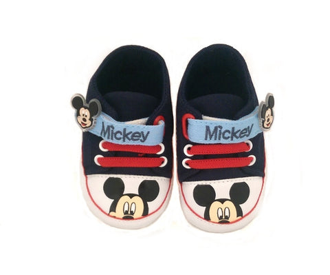 Mickey Mouse Pre-Walkers - Navy Blue