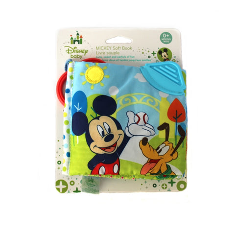 Mickey Mouse Activity Soft Story Book