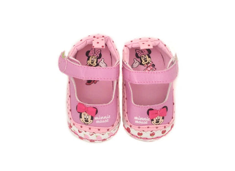 Minnie Mouse Pre-Walkers - Pink
