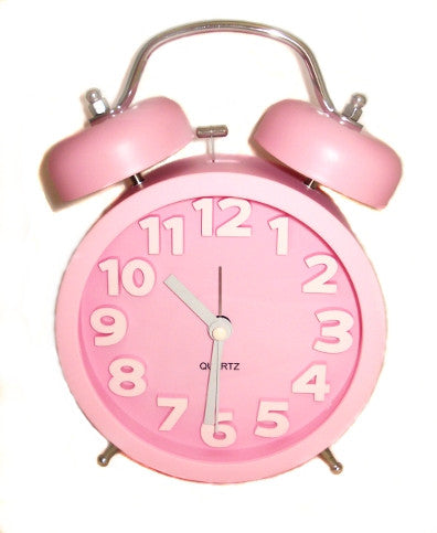 Alarm Clock - Large (Assorted Colours)