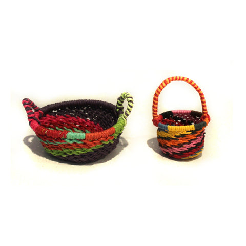 Sante Fe Petite Baskets - Set of 2