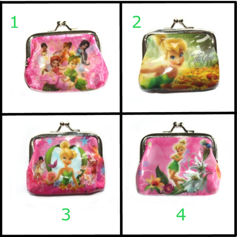 Tinkerbell Fairy Coin Purse - Assorted