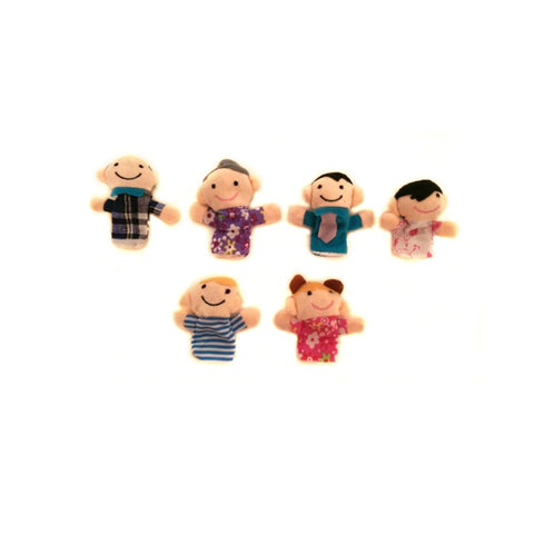 Finger Puppet Family - Set of 6