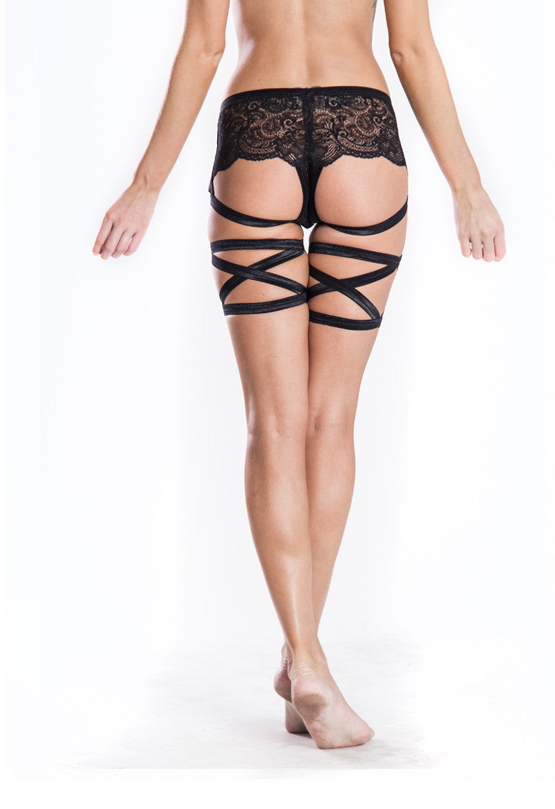 Criss Cross Leg Bands - cantiqLA