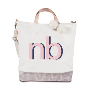 Ben day tote with Harrison Font