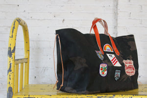 hugh holdall | henry 1o1 | vintage patch bag bracebridge