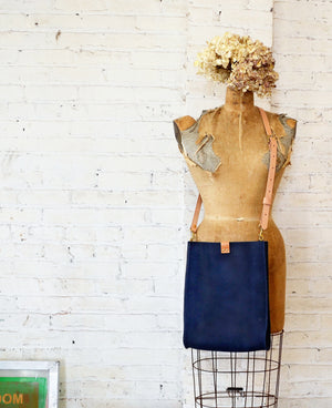 kennedy crossbody | large navy