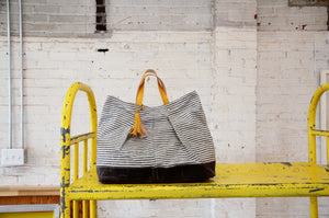 Hardy Stock Tote | ticking