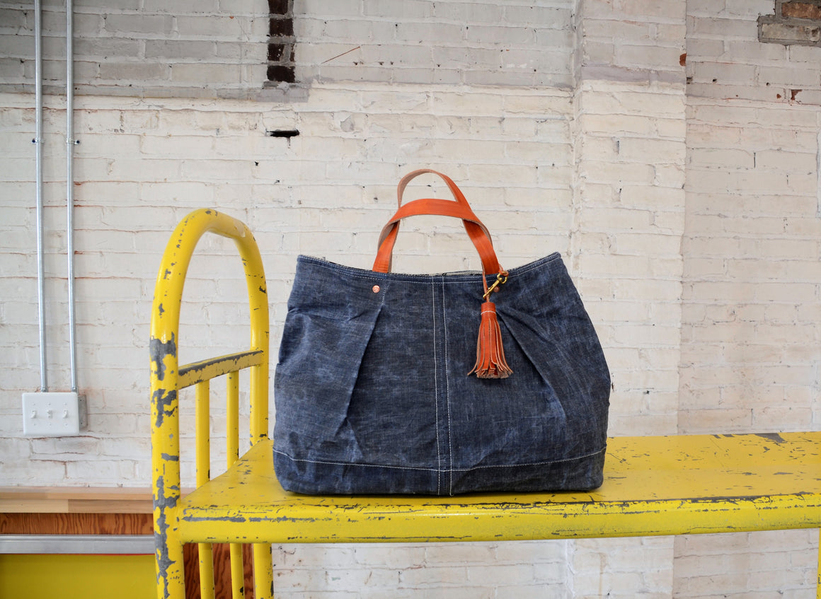 Hardy Stock Tote | denim