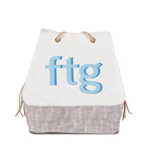 harry feed bag | custom with harrison font