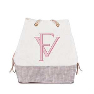 harry feed bag | custom with charles font