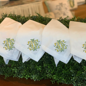 napkins | monogram 4-pack