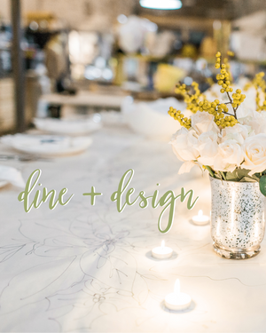 dine + design ticket