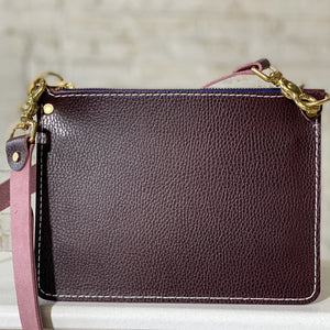 mayer crossbody | bordeaux