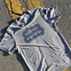 t-shirt | go your own way | navy