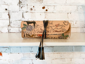 jude long crossbody | equine graffiti