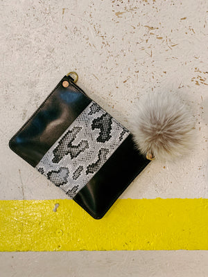 mayer crossbody | snakeskin